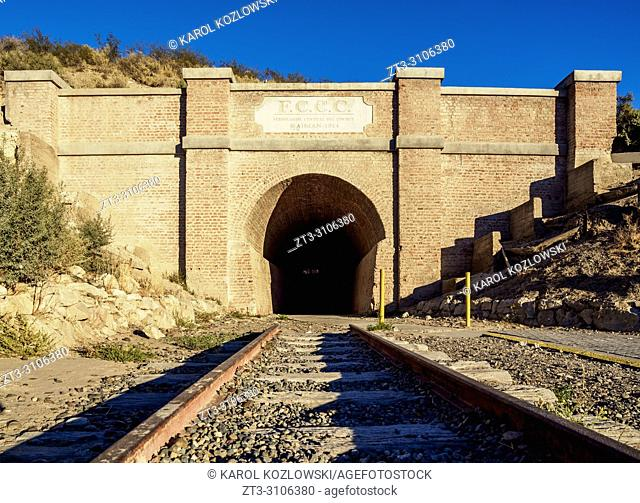 Central Chubut Railway Tunnel, Gaiman, The Welsh Settlement, Chubut Province, Patagonia, Argentina