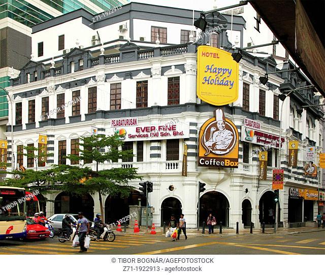 Street scene, Kuala Lumpur, Malaysia