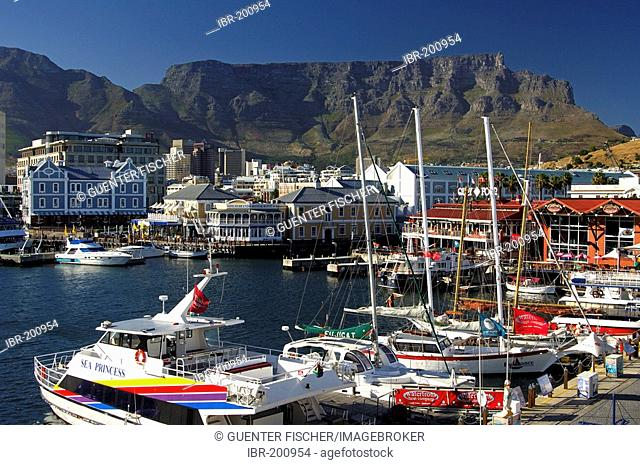 Amusement centre Waterfront, Table Mountain, Cape Town, South Africa