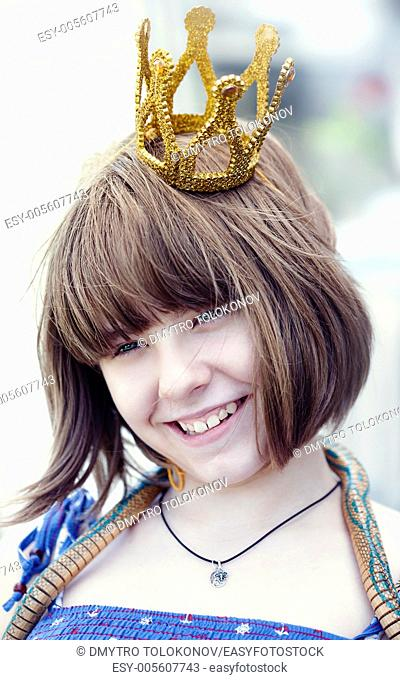 Little princess, beauty female portrait