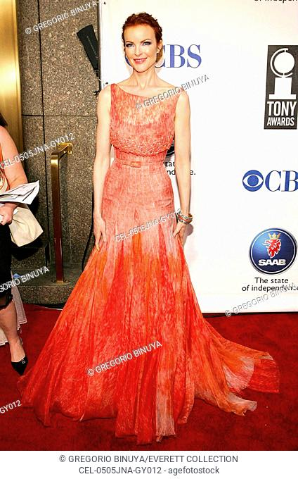 Marcia Cross at arrivals for American Theatre Wing's Antoinette Perry 2005 Tony Awards, Radio City Music Hall, New York, NY, Sunday, June 05, 2005