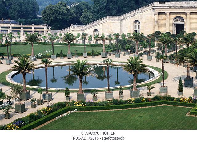 Orangerie from castle Versailles Ile de France France