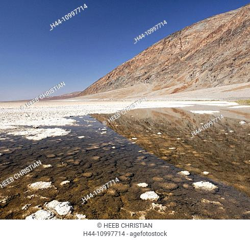 Badwater, Death Valley, National Park, California, USA