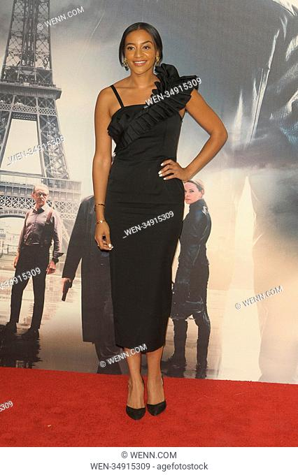 The UK Premiere of 'Mission: Impossible – Fallout' held at the BFI IMAX - Arrivals Featuring: Amal Fashanu Where: London