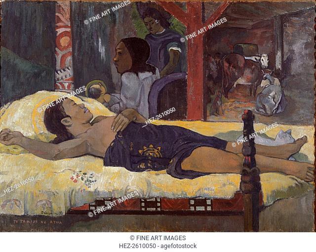 Son of God (Te Tamari no Atua), 1896. Artist: Gauguin, Paul Eugéne Henri (1848-1903)