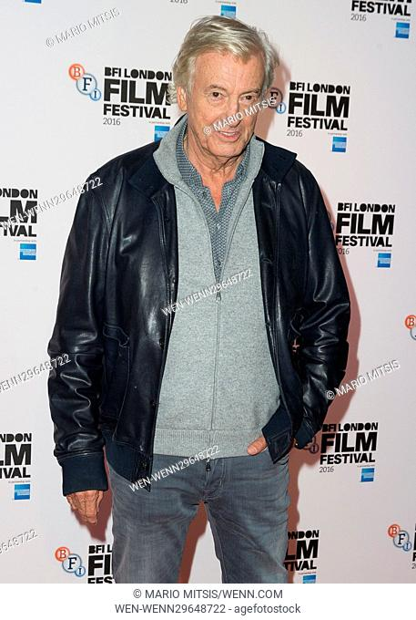 The BFI LFF Screening of 'Elle' held at the Embankment Garden Cinema - Arrivals Featuring: Paul Verhoeven Where: London, United Kingdom When: 08 Oct 2016...