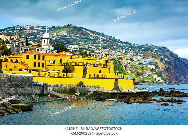 Sao Tiago Fort. Funchal, Madeira, Portugal, Europe