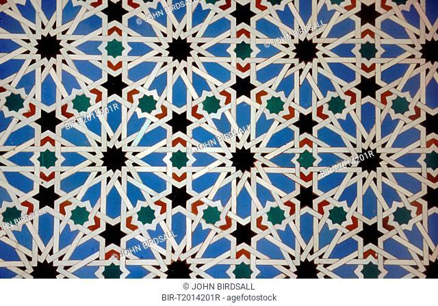 Tiling in the Alcazar, Seville