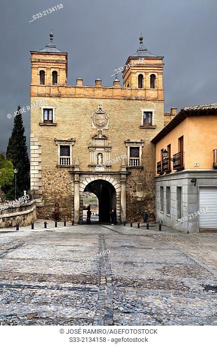Cambrón gate in Toledo. Castilla la Mancha. Spain