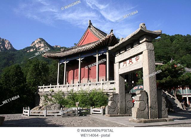 temple, Taianshi, China