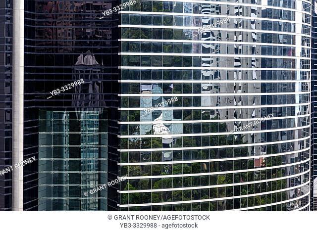 Modern Architecture, Hong kong Island, Hong Kong, China