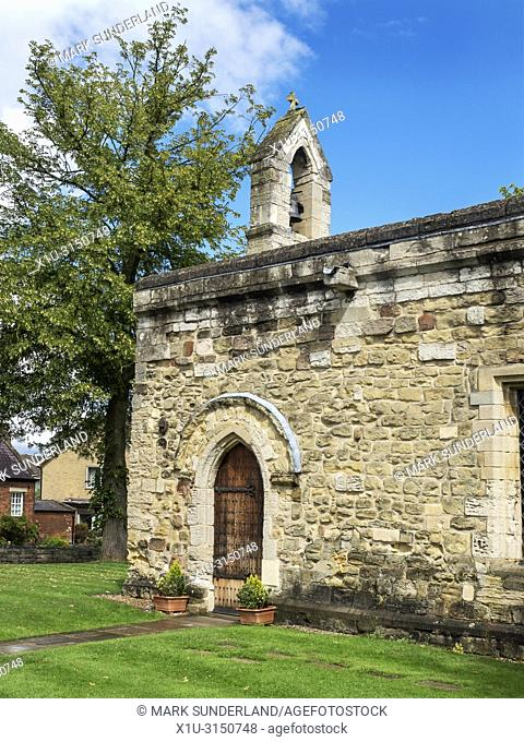 St Mary Magdalens Chapel or The Leper Chapel Ripon Yorkshire England