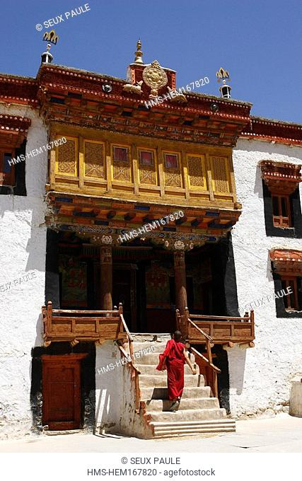India, Jammu and Kashmir, Ladakh, Indus valley, Likir Gompa monastary