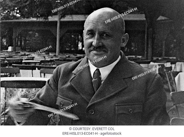 Julius Streicher 1885-1946, Nazi official and founder and publisher of DER STURMER newspaper, an anti-Semitic propaganda vehicle for the Nazi Party
