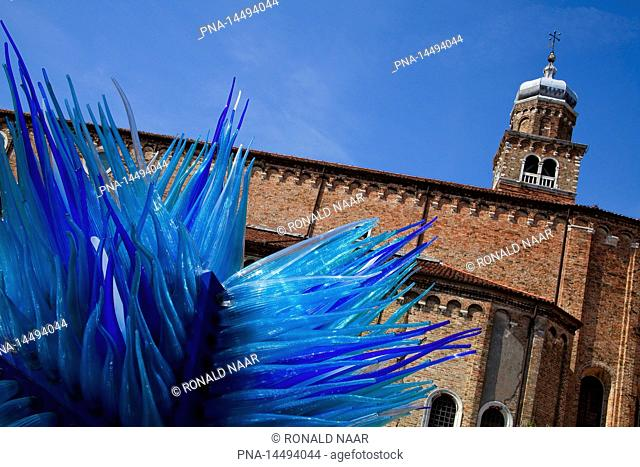 The glass island Murano, province of Venice, Veneto, Italia