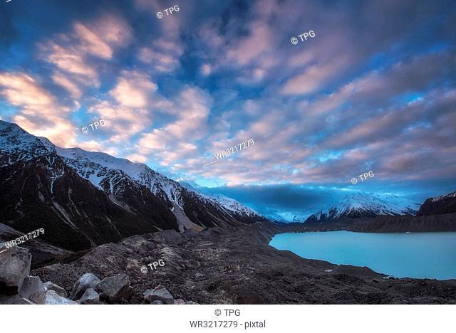 Aoraki Mount Cook National Park;New Zealand