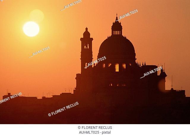 Malta - Gozo - Xewkija Church