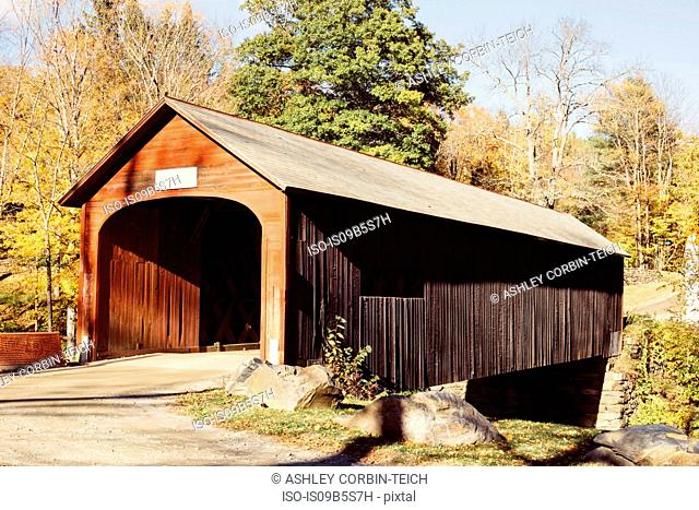 Rustic barn, Guilford, Vermont, USA