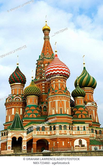 St Basil's Cathedral, Red Square, Moscow, Russian Federation