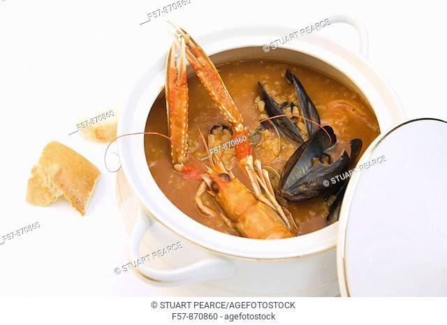 Spanish Shellfish Soup
