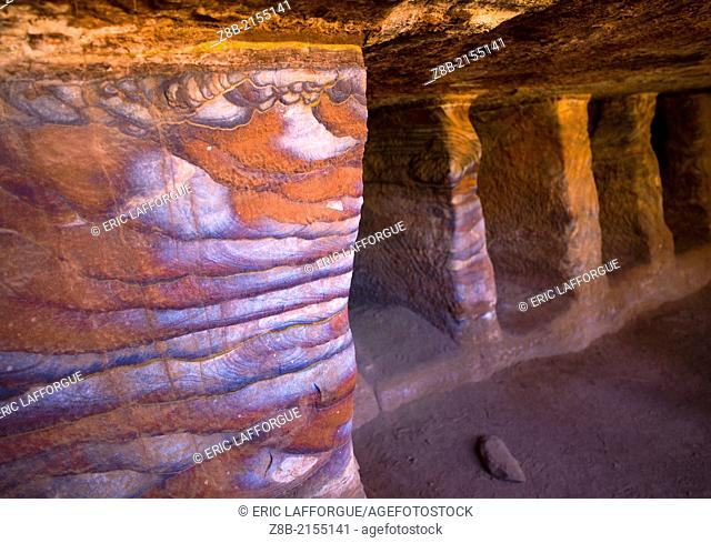Hidden amid the rock formations of Wadi Musa in Jordan, lies the ancient Nabataean city of Petra, Its facades were carved out of the red-hued rock more than 2