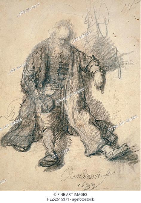 The Drunken Lot. Artist: Rembrandt van Rhijn (1606-1669)