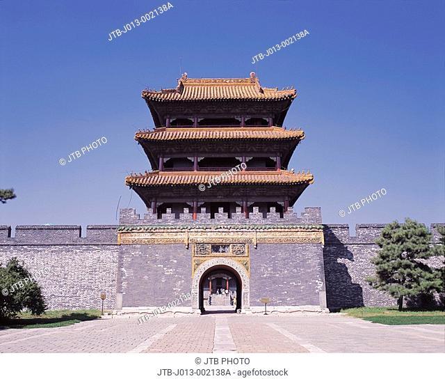 Longen Gate, Zhao ling park, Shenyang, Liaoning province, China
