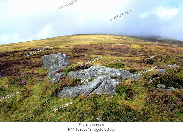 Eire, Europe, European, Ireland, Irish, Western Europe, travel destinations, Landscape, nature, Wicklow mountains, Dublin