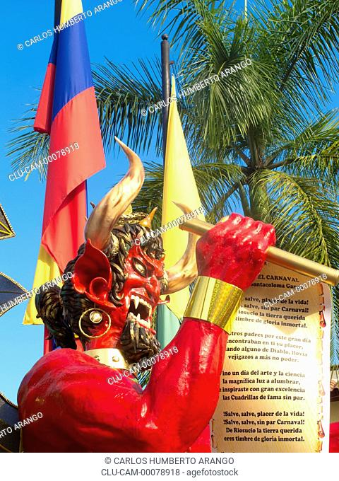 Devil Mask Riosucio Carnival, Riosucio, Caldas, Manizales, Colombia