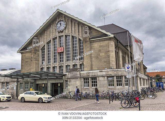 Main Station (1912), Darmstadt, Hesse, Germany