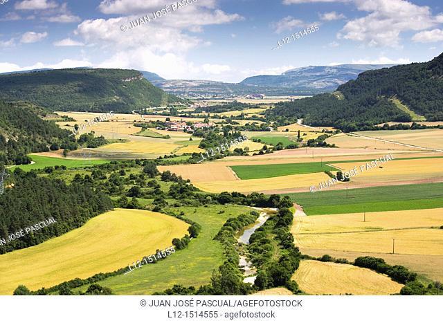 Valle de Losa, Losa Valley, Burgos province, Castilla-León, Spain