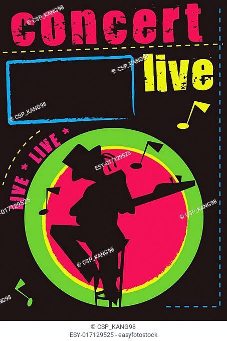 Concert,music,poster,live, cabaret