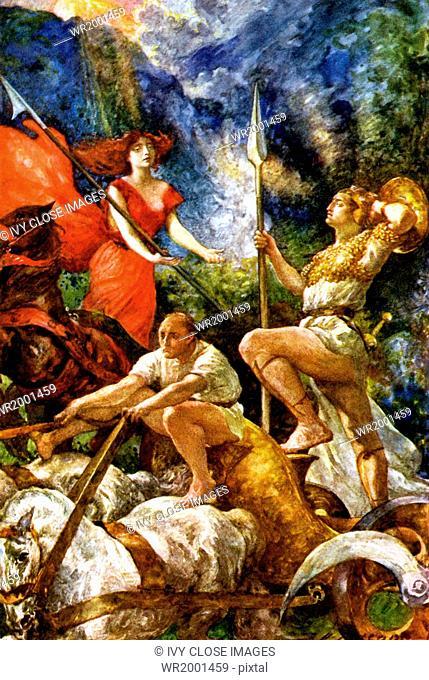 According to irish mythology Stock Photos and Images | age