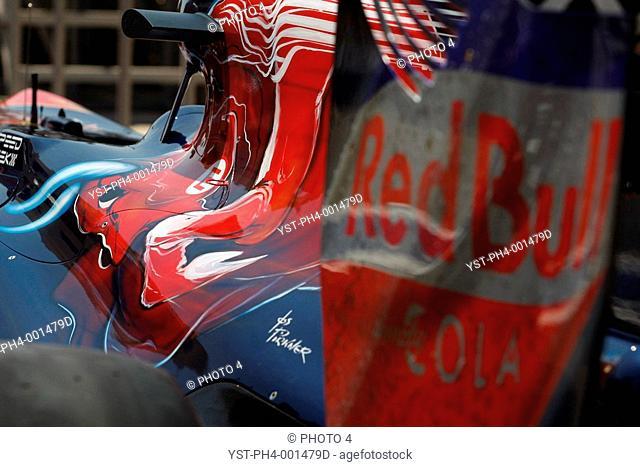 Car, Scuderia Toro Rosso Ferrari, Grand Prix, Bahrain, Persian Gulf