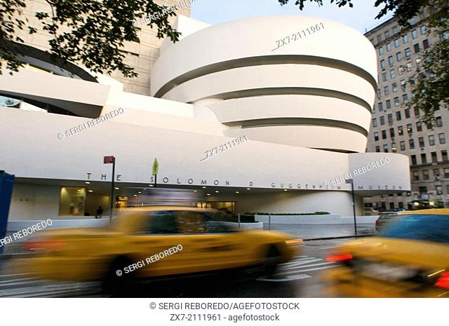Solomon R. Guggenheim Museum. 1071 Fifth Avenue and 89th Street. The museum is named after its founder, Solomon R. Guggenheim, an American magnate