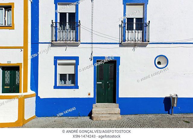 Houses of Arraiolos, Alentejo, Portugal, Europe