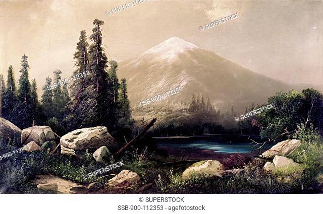 Mount Shasta, California 1880 Thomas Hill 1829-1908/American