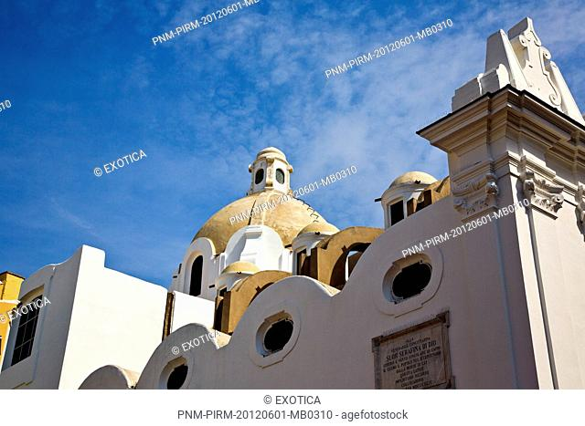 Low angle view of a church, Capri, Campania, Italy