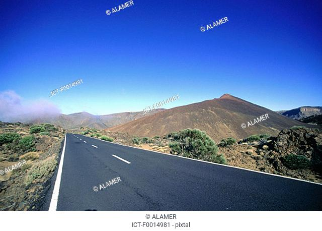 Canary Islands, Tenerife, vulcano
