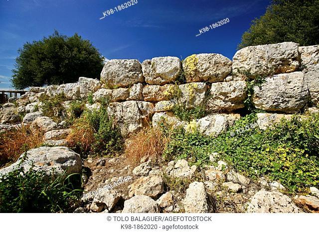Poblado Talaiótico Illot 1100 BC Balearic Islands Mallorca Spain