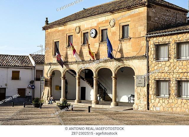 Town Hall, Alarcón, Cuenca province, Castilla-La Mancha, Spain