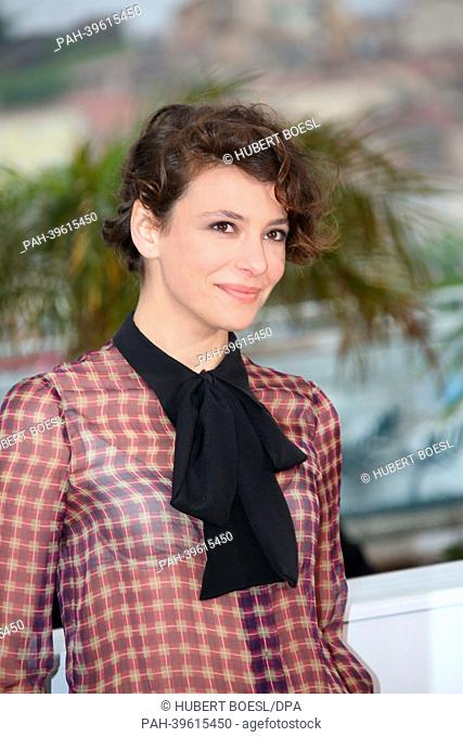"Actress Jasmine Trinca attends the photocall of """"Miele"""" during the 66th Cannes International Film Festival at Palais des Festivals in Cannes, France"