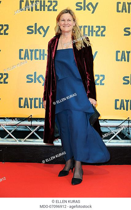 American director Ellen Kuras attends the premiere of the Sky TV serie Catch-22. Rome (Italy), May 13th, 2019