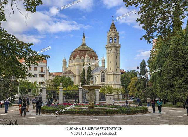 Madrid, Church of San Manuel y San Benito, Spain, Europe