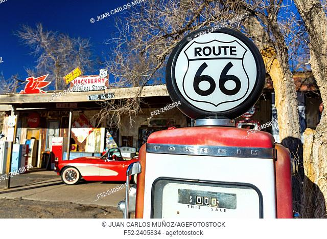 Hackberry General Store, Hackberry, U.S. Route 66 (US 66 or Route 66), Arizona, USA, América