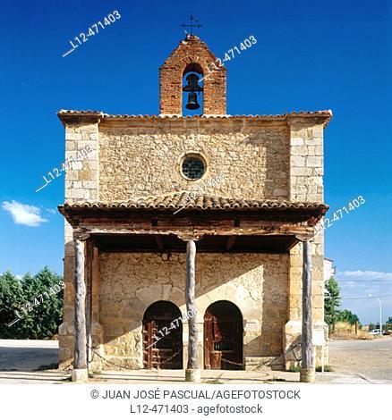 Chapel, Berlanga de Duero. Soria province, Castilla-León, Spain