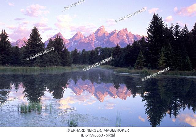 Schwabacher Landing, Grand Teton National Park, Wyoming, USA