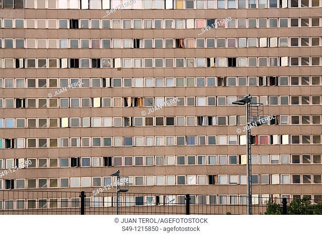 building facade in Berlin