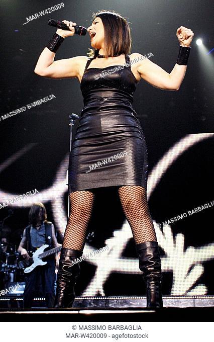 milano 2009, laura pausini in concert