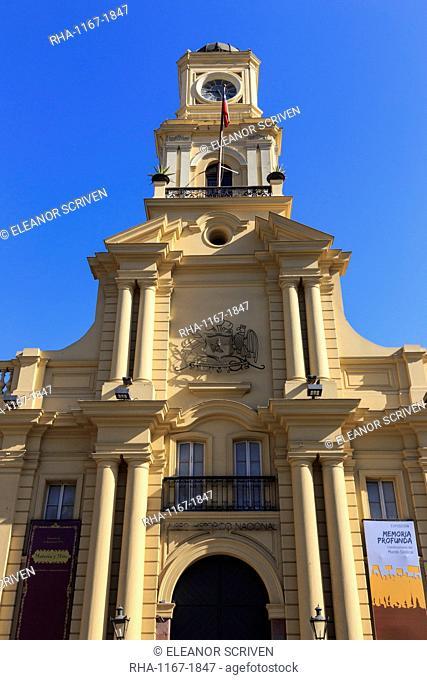 Museo Historico Nacional, Plaza de Armas, Santiago Centro, Santiago de Chile, Chile, South America